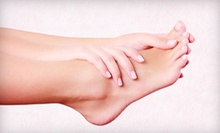 Three Toenail-Fungus-Removal Treatments for One or Two Feet at Foot and Ankle Wellness Centre (Up to 75% Off)