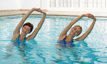 10 Aqua Zumba, Aqua Jogging, or Aqua Resistance Fitness Classes at the Lebanon Community Pool (50% Off)