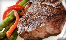 Eight 12 oz. Striploin Steaks or $25 for $50 Worth of Meat Products from Frontier Meats