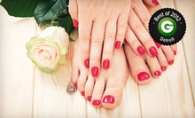 One or Three No-Chip Manicures or One Pedicure at Beyond Nails (Up to 53% Off)