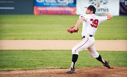Holyoke Blue Sox Game Package for Four or Season-Ticket Package for One at Mackenzie Stadium (Up to 51% Off)