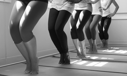 5 or 10 Yoga or Barre Classes at Lexington Power Yoga (Up to 57% Off)