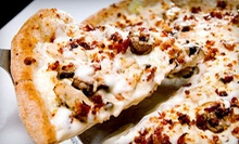 $7 for $15 Worth of Gourmet Pizza, Calzones, and Sandwiches at Wheat State Pizza!
