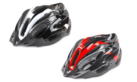 Carbon Fiber Bike Helmet with Visor