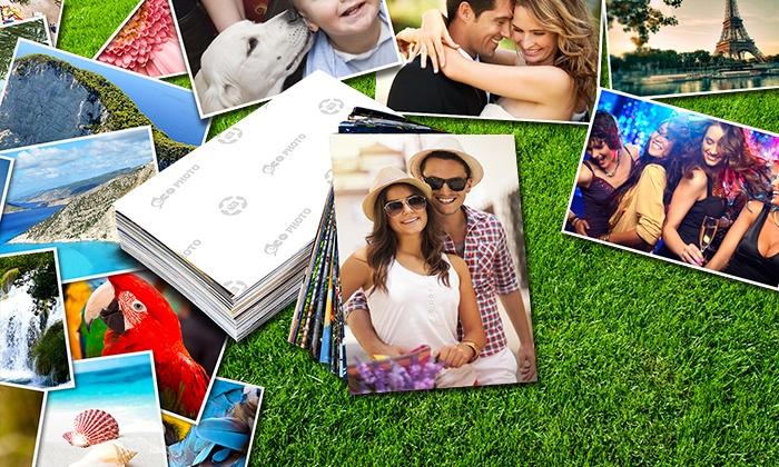 Impressão de 100, 200 ou 300 fotografias desde 6,95€
