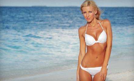 $19 for a Custom Airbrush Tan at 360 Tans ($50 Value)