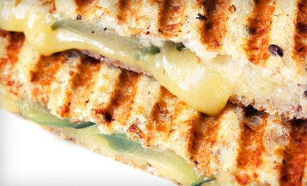 Five Grilled-Cheese Sandwiches or $10 for $20 Worth of Breakfast or Lunch at The Melt