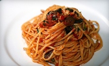 $12 for $25 Worth of Italian Cuisine and Drinks at Danube Bistro 