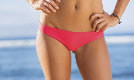 Brazilian Wax, Full Leg Wax, or Both at Expressions Salon & Spa (Up to $91 Off)