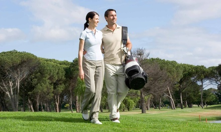 Nine-Hole Round for Two or Four with Range Balls and Soft Drinks at Family Golf & Learning Center (53% Off)