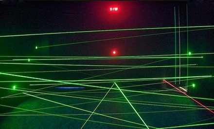 Unlimited Laser-Maze Play for Two, Four, or Six or a Birthday Party for 10 with Pizza at The Lazer Maze (Half Off)