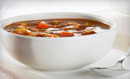 $15 for Three Vouchers for Sandwiches, Drinks, and Sides at The Soup Kitchen ($30 Value) 