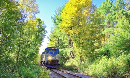 Scenic Adirondack Train Ride for Two or Four from Saratoga & North Creek Railway (Up to 42% Off)