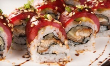 Hibachi and Sushi at Kobe Japanese Steaks and Sushi (Half Off). Two Options Available.