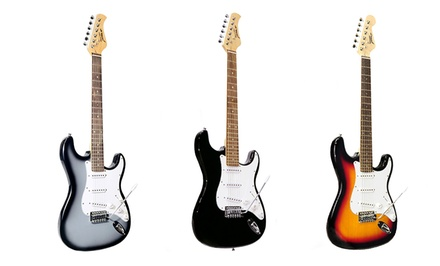Pyle Beginner Electric-Guitar Set