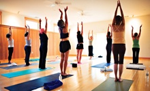 10 Classes or One Month of Unlimited Classes at L-Yoga Flow in Gahanna (Up to 81% Off)