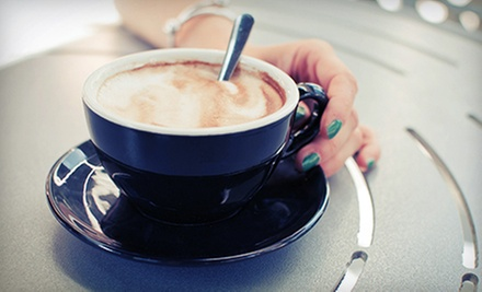$12 for a Five-Punch Card for Coffee Drinks and Food at Aspen Family Coffee (Up to $25 Value)