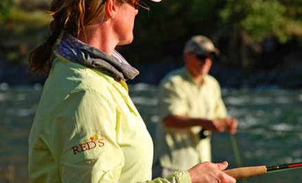 Fly Fishing 101 Class with 13 Flies, or Fly Fishing 101 and 201 with 13 Flies at Red&#x27;s Fly Shop (Up to 61% Off)