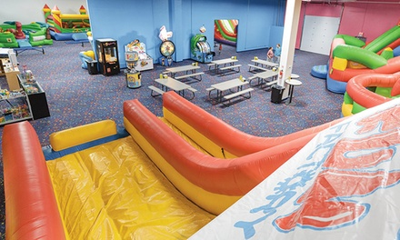 $29 for Five All-Day Bounce Passes at Jump N Play Noblesville ($50 Value)