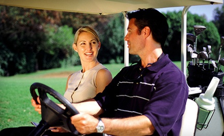 Golf Package at Twin Creeks Country Club (Up to 61% Off). Three Options Available.
