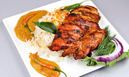 Indian Lunch or Dinner for Two or Four or More at Bombay Bliss (Up to 50% Off). Four Options Available.