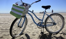 Full-Day Beach-Cruiser Rental for One, Two, or Four at Bike Curious Rentals (Up to 56% Off)