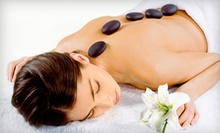 60-Minute Hot-Stone Massage, or 60-Minute Massage Lesson for a Couple at Healing Arts Medical Massage (58% Off)