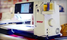 Intro to Sewing or Embroidery Classes for One or Two at Bernina Northwest (Up to 75% Off)