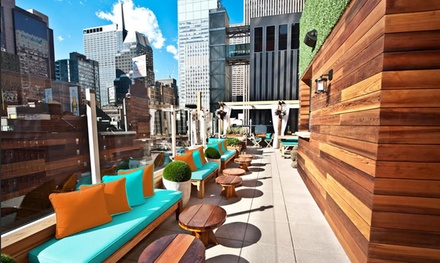 $28 for $40 Worth of Lunchtime Dining for Two at Haven Rooftop