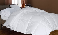 GROUPON: Royal Luxe High-Loft, 400-Thread-Count Egyptian-Cotton Comforter Royal Luxe 400TC Egyptian-Cotton Comforter