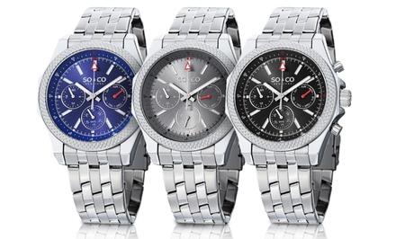 SO & CO New York Men's Multifunction Quartz Watch