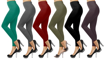 6-Pack of Fleece-Lined Leggings