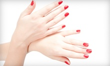 $25 for a Manicure and Spa Pedicure at Kapricious Salon & Spa (Up to $53 Value)
