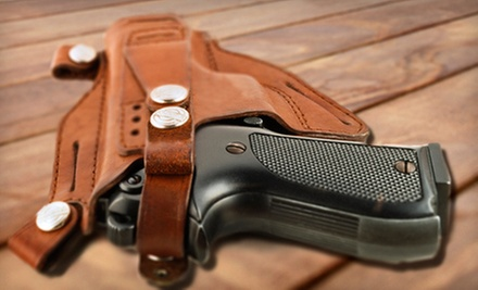 Four-Hour Concealed-Weapon-Permit Class for One or Two at PG Firearms Training (Up to 67% Off)
