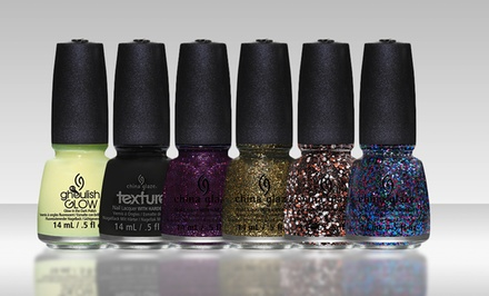 groupon daily deal - China Glaze Limited Edition Monsters Ball Nail Polish Set