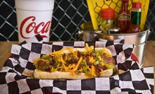 $3 for $6 Worth of Hot Dogs, Sausages, Sides, and Drinks at The Gnarley Dawg
