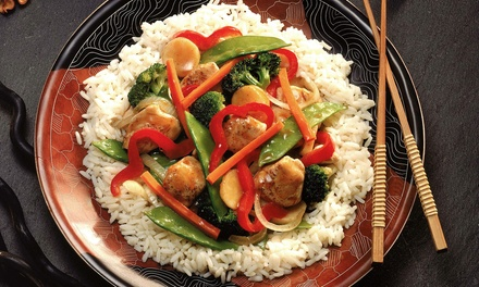 Japanese and Chinese Food at Sato II (48% Off). Two Options Available.
