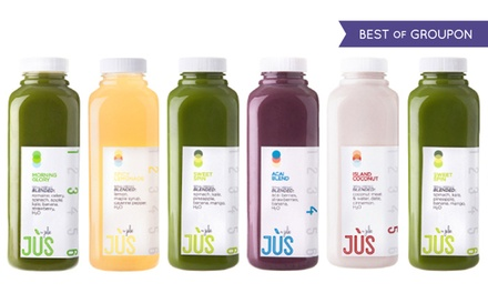 $99 for a Three-Day Juice Cleanse for One from Jus by Julie ($150 Value)