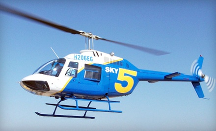 Helicopter Tour of Mount Baldy and Holiday Lights for One, Two, or Four from AirLift International LLC (Up to 51% Off)