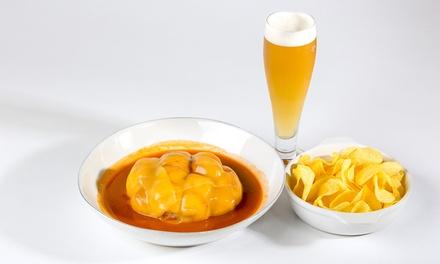 Sindicato — Baixa: menu de Francesinha com batatas, bebidas e cafés para dois por 14,90€ ou para quatro por 26,90€