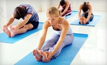 10- or 20-Class Yoga Pass at East Wind Yoga (Up to 78% Off)