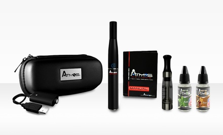 Atmos Dry Herb, Wax, and Oil Vaporizer Kit. Multiple Colors Available.