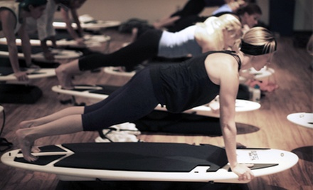 5 or 10 Surfing-Inspired Fitness Classes at SurfSet 858 (Up to 56% Off)