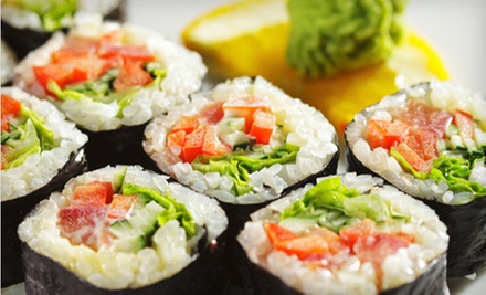 $10 for $20 Worth of Traditional Japanese Cuisine at Tokyo Sushi &amp; Grill Japanese Steakhouse 