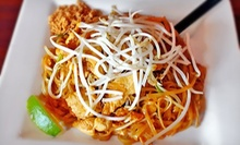 $7.50 for $15 Worth of Thai Cuisine at Lunch or Dinner at Sawadika Thai Zone