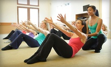 5 or 10 Fitness Classes with Childcare or 1 Private Class at The Dailey Method (Up to 75% Off)