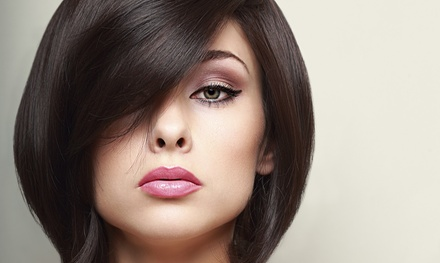 Women's Cut with Optional Conditioning and Bleach-Free Highlights at Gordiany's Hair Studio (Up to 52% Off)