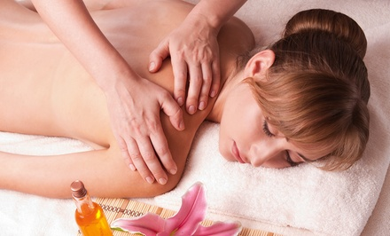 60-Minute Swedish Massage with Salt Scrub from Lou Brewer at Tulsa Style (49% Off)