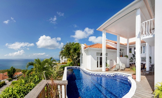 TripAlertz wants you to check out 4- or 7-Night Stay for Two in a One-Bedroom Island Villa at Windjammer Landing Villa Beach Resort in St. Lucia Beachfront Villas on St. Lucia - Beachfront St. Lucia Villas