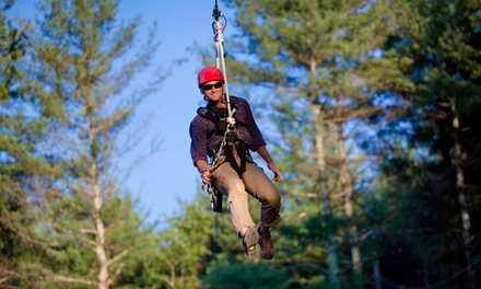 $59 for a Zipline Tour for Two at The Beanstalk Journey in Morganton (Up to $138 Value)
